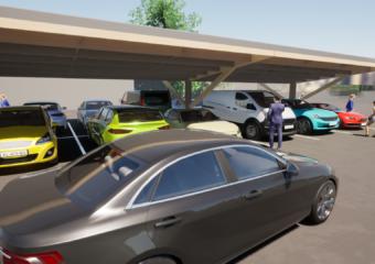 Timber carpark 6