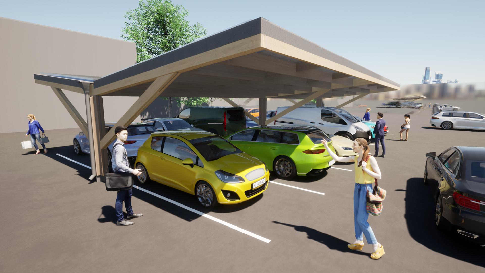 Timber carpark 3